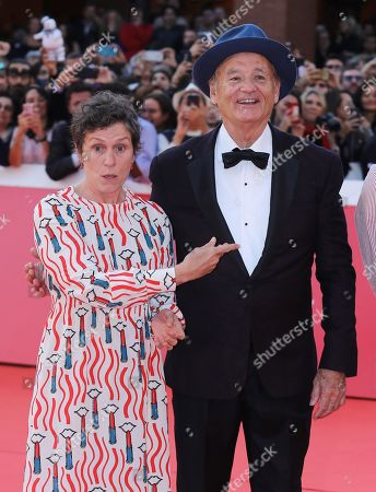 Stock Image of Bill Murray and Frances McDormand