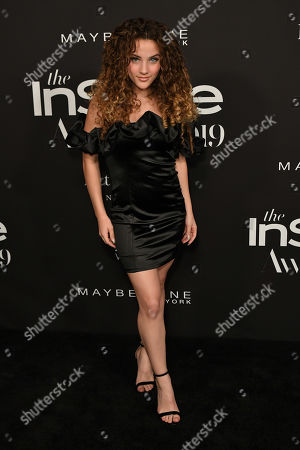 Editorial picture of 5th Annual InStyle Awards, Arrivals, The Getty Museum, Los Angeles, USA - 21 Oct 2019