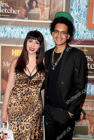 Chelsea Devantez and Yassir Lester