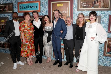 Rashad Edwards, Katie Kershaw, Owen Teague, Kathryn Hahn, Jackson White, Tom Perrotta, Helen Estabrook and Casey Wilson
