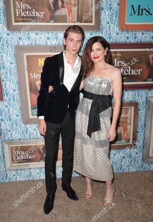 Owen Teague and Kathryn Hahn