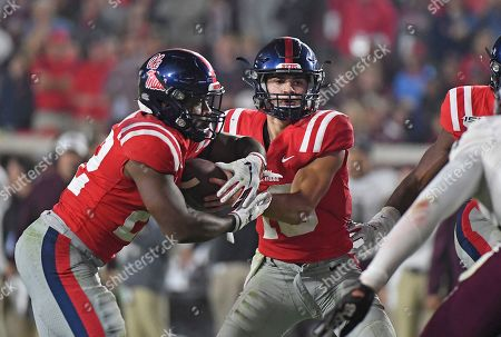 Editorial photo of Texas A M Mississippi Football, Oxford, USA - 19 Oct 2019