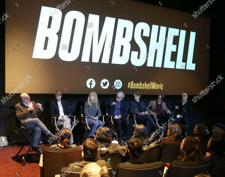 Editorial picture of Exclusive - 'Bombshell' BAFTA film screening, Inside, New York, USA - 19 Oct 2019