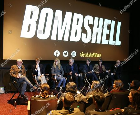 Editorial photo of Exclusive - 'Bombshell' BAFTA film screening, Inside, New York, USA - 19 Oct 2019
