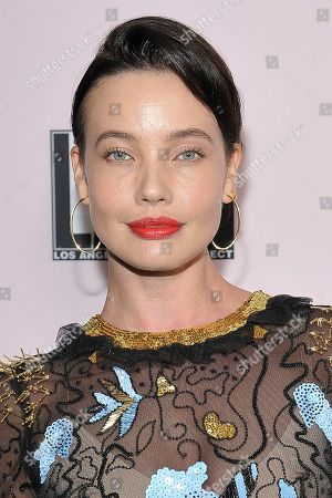 Stephanie Corneliussen attends the 2019 L.A. Dance Project Annual Gala at Hauser & Wirth, in Los Angeles