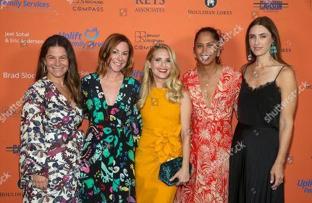 Ashlee Margolis, Samantha Bryant, Sally Pressman and Guest