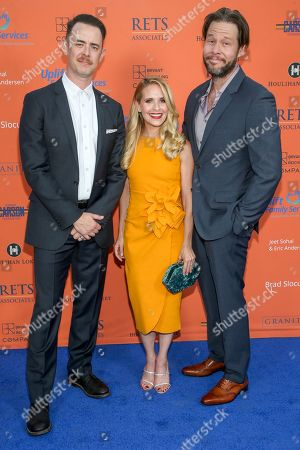 Colin Hanks, Sally Pressman and Ike Barinholtz