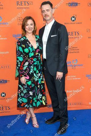 Samantha Bryant and Colin Hanks