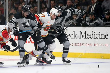 Editorial picture of Flames Kings Hockey, Los Angeles, USA - 19 Oct 2019