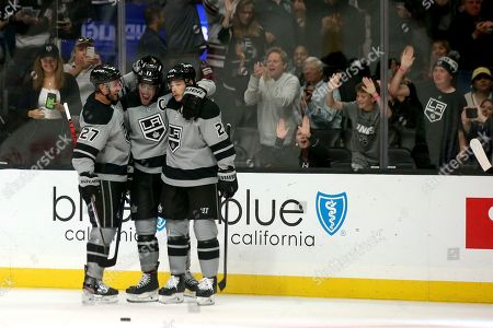 Editorial image of Flames Kings Hockey, Los Angeles, USA - 19 Oct 2019
