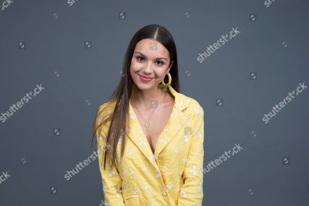 "Stock Photo of Olivia Rodrigo poses at the Disney + launch event promoting ""High School Musical: The Musical: The Series"" at the London West Hollywood hotel on in West Hollywood, Calif"