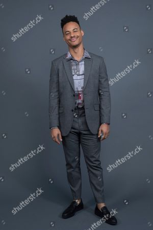 """Stock Photo of Mark St. Cyr poses at the Disney + launch event promoting """"High School Musical: The Musical: The Series"""" at the London West Hollywood hotel on in West Hollywood, Calif"""