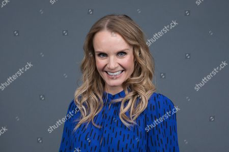 "Stock Image of Kate Reinders poses at the Disney + launch event promoting ""High School Musical: The Musical: The Series"" at the London West Hollywood hotel on in West Hollywood, Calif"