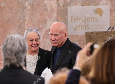 Editorial picture of Sebastiao Salgado awarded with the Peace Prize of the German Book Trade, Frankfurt Main, Germany - 20 Oct 2019
