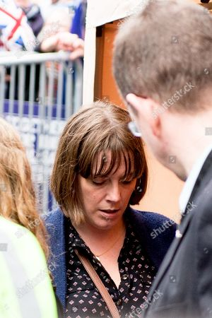 People's Vote Anti Bexit protest march for a vote on Brexit, Jess Phillips Labour Member of Parliament for Birmingham Yardley