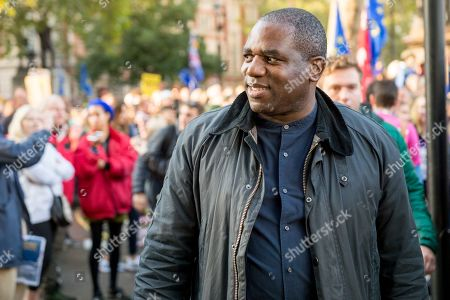 People's Vote Anti Bexit protest march for a vote on Brexit, David Lammy PC MP FRSA Member of Parliament for Tottenham