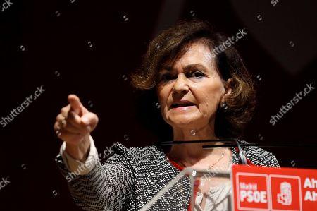 Editorial image of PSOE electoral rally, San Fernando De Henares (Madrid), Spain - 20 Oct 2019