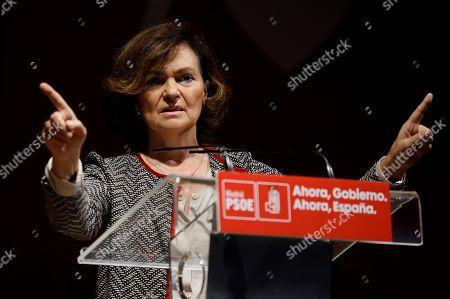 Editorial picture of PSOE electoral rally, San Fernando De Henares (Madrid), Spain - 20 Oct 2019