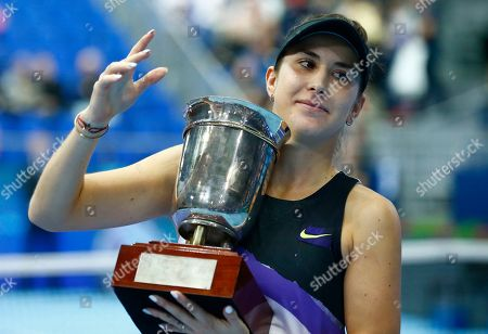 Editorial image of Russia Tennis Kremlin Cup, Moscow, Russian Federation - 20 Oct 2019