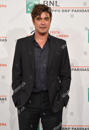 Riccardo Scamarcio poses during the photocall for 'Il ladro di giorni' at the 14th annual Rome Film Festival, in Rome, Italy, 20 October 2019. The film festival runs from 17 to 27 October.