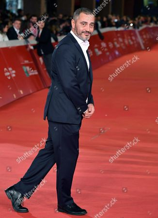 Guido Lombardi arrives for the screening of 'Il ladro di giorni' at the 14th annual Rome Film Festival, in Rome, Italy, 20 October 2019. The film festival runs from 17 to 27 October.