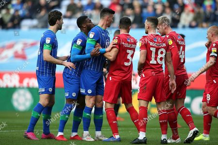 Editorial picture of Wigan Athletic v Nottingham Forest, EFL Sky Bet Championship - 20 Oct 2019