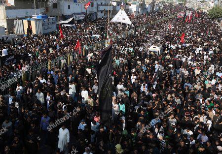 Editorial picture of Shiite, Karachi, Pakistan - 20 Oct 2019