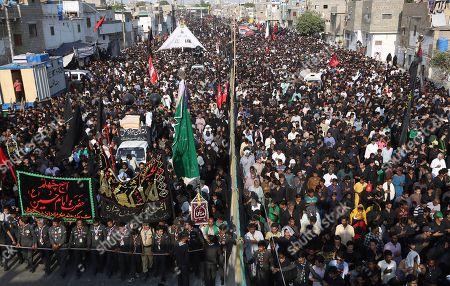 Editorial image of Shiite, Karachi, Pakistan - 20 Oct 2019