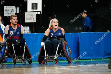 Editorial image of USA v Great Britain, World Wheelchair Rugby Challenge Semi-final, Tokyo Metropolitan Gymnasium, Japan - 19 Oct 2019
