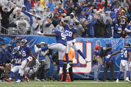 Editorial photo of Cardinals Giants Football, East Rutherford, USA - 20 Oct 2019