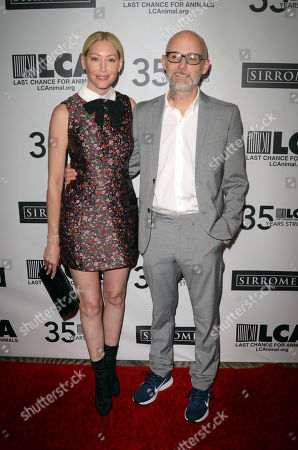 Julie Mintz and Moby