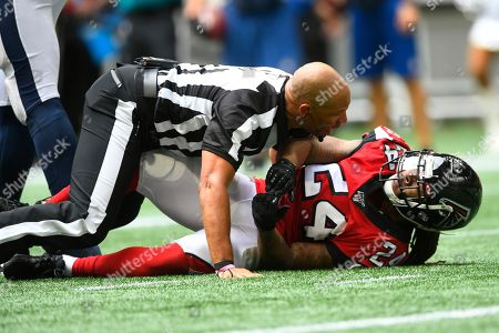 Editorial picture of Rams Falcons Football, Atlanta, USA - 20 Oct 2019