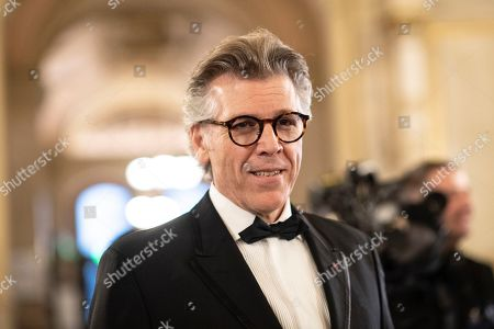 US lyric baritone Thomas Hampson arrives at the European Cultural Award in Vienna, Austria, 20 October 2019.