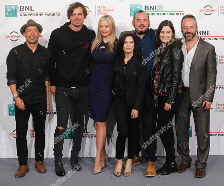 Jerry Ying, Christopher Backus, Mira Sorvino, Melora Walters, Rory Rooney and Gil Bellows