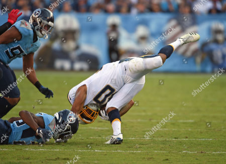 Editorial image of NFL Los Angeles Chargers vs Tennessee Titans, Nashville, USA - 20 Oct 2019