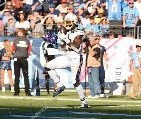 Editorial picture of NFL Los Angeles Chargers vs Tennessee Titans, Nashville, USA - 20 Oct 2019