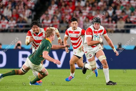 Editorial photo of Japan v South Africa, Rugby World Cup Quarter-finals, Ajinomoto Stadium, Tokyo, Japan - 20 Oct 2019