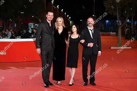 Editorial image of 'Drowning' Premiere, Rome Film Festival, Italy - 20 Oct 2019