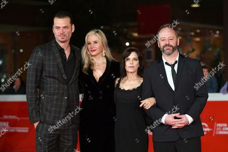 Melora Walters, Christopher Backus, Mira Sorvino and Gil Bellows