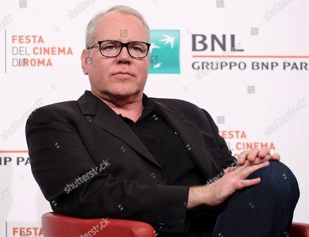 Editorial picture of 'Bret Easton Ellis, Rome Film Festival, Italy - 20 Oct 2019