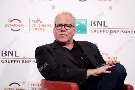 Editorial image of 'Bret Easton Ellis, Rome Film Festival, Italy - 20 Oct 2019