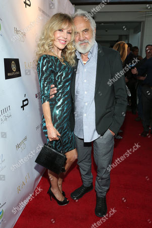 Stock Photo of Shelby Chong and Tommy Chong