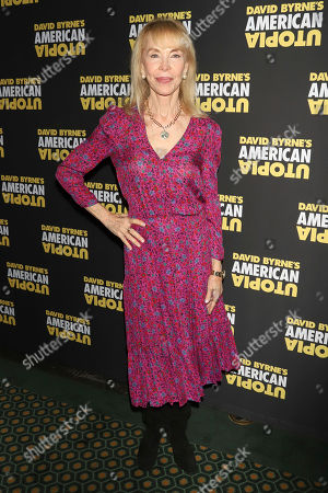 "Elaine Joyce attends the Broadway opening night of ""David Byrne's American Utopia"" at the Hudson Theatre, in New York"
