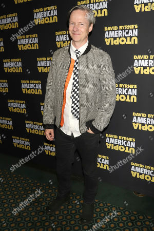 """John Cameron Mitchell attends the Broadway opening night of """"David Byrne's American Utopia"""" at the Hudson Theatre, in New York"""