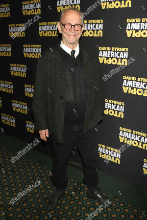 """Joel Grey attends the Broadway opening night of """"David Byrne's American Utopia"""" at the Hudson Theatre, in New York"""