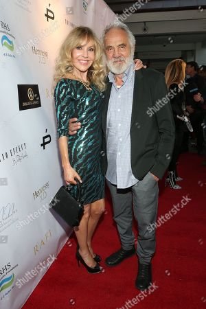 Stock Image of Shelby Chong, Tommy Chong