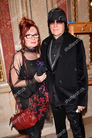 Stock Photo of Renate Helnwein and Gottfried Helnwein