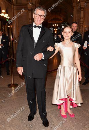 Stock Image of Thomas Hampson and Alma Deutscher