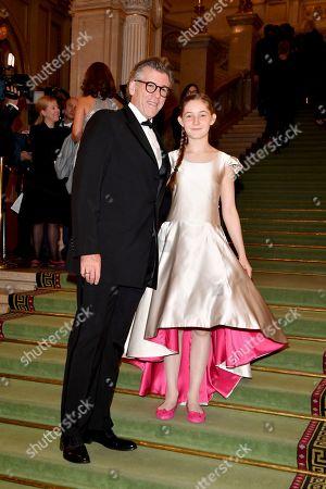Stock Photo of Thomas Hampson and Alma Deutscher