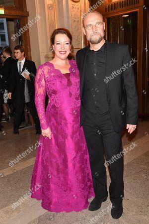 Stock Image of Nina Stemme and Bengt Gomer